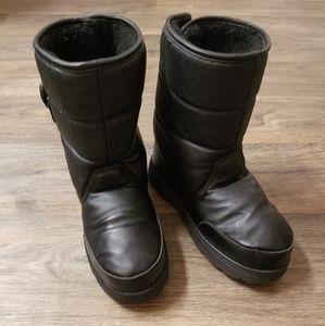 Kamik Lunar black snow winter boots size 7